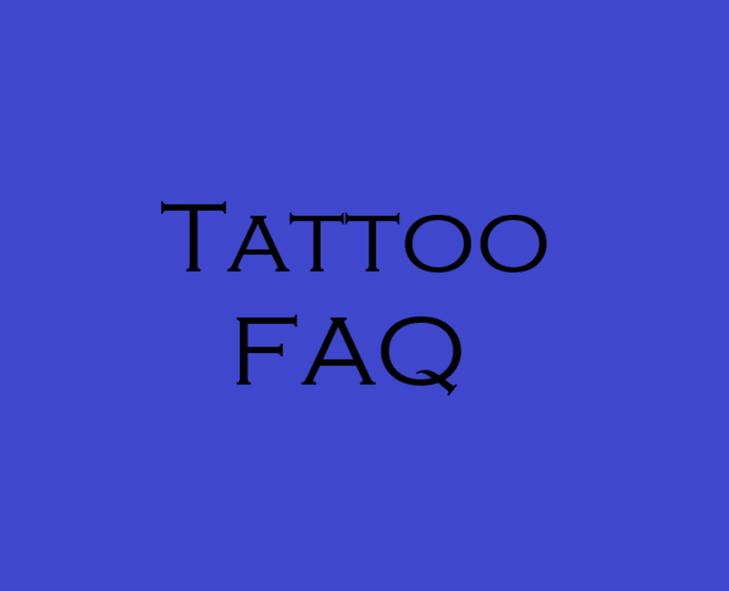 Tattoo FAQ 2