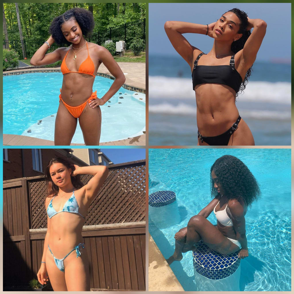 Part VI: Hot Summer Bods in Women's Sports & Fitness