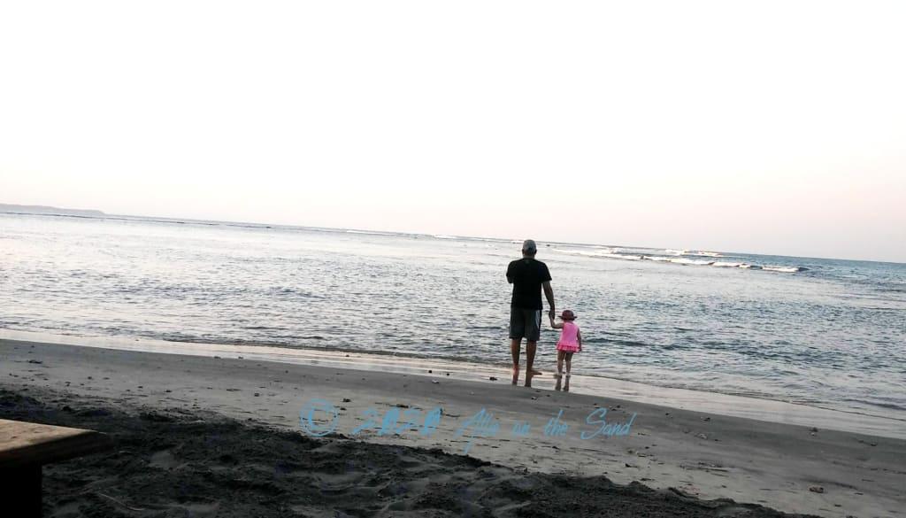 Allie on the Sand