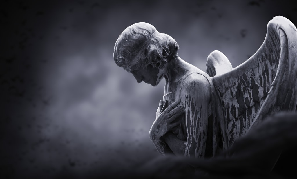 An Angel's Weary
