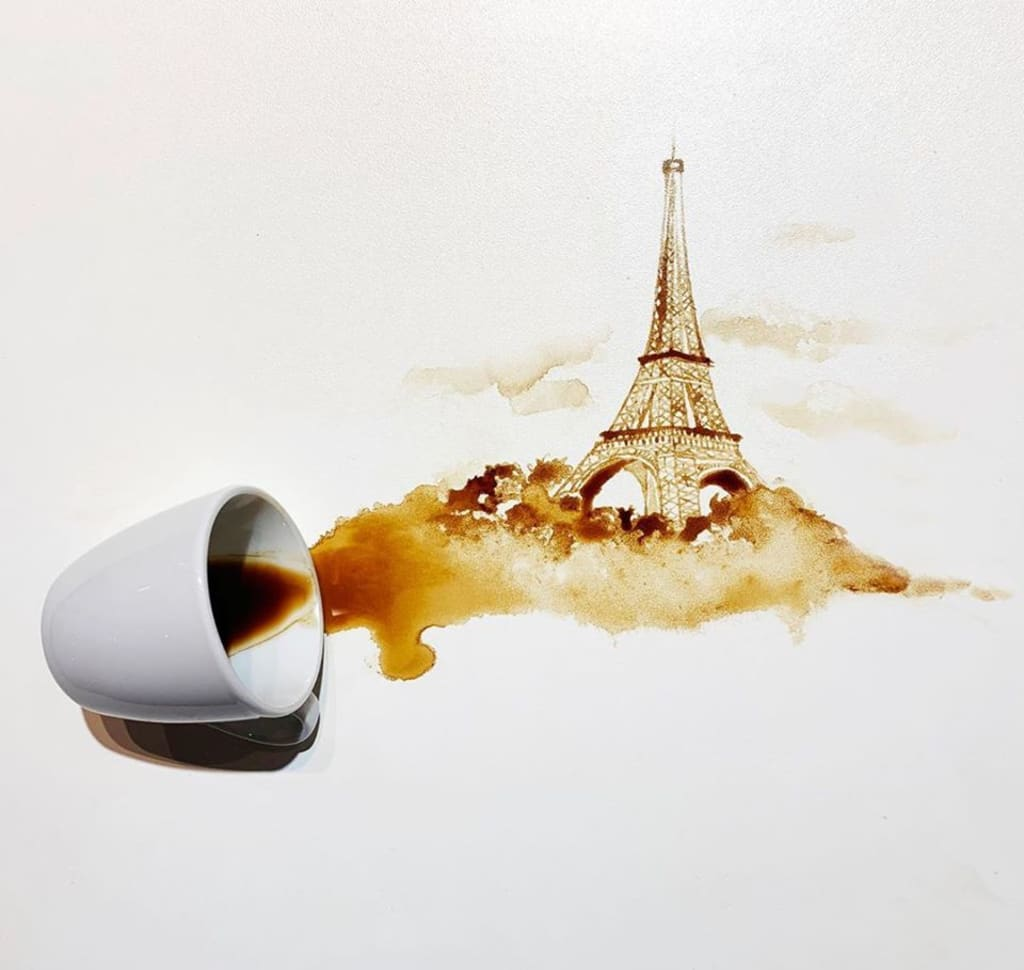 Make Tea Not War, But If It Spills Make Some Art