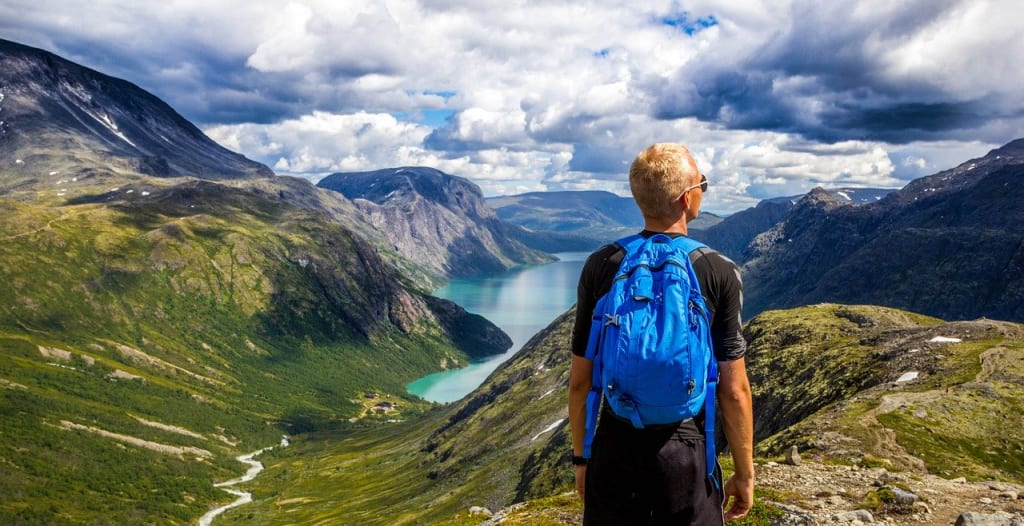 A bit of advice about backpacking