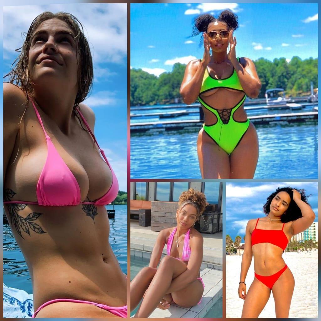 Part IX: Hot Summer Bods in Women's Sports & Fitness