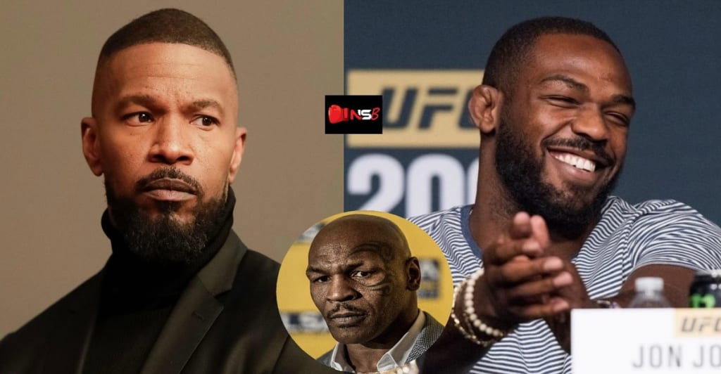JAMIE FOXX TO PLAY MIKE TYSON ON SCREEN… TYSON TO FIGHT JON JONES IN REAL LIFE?
