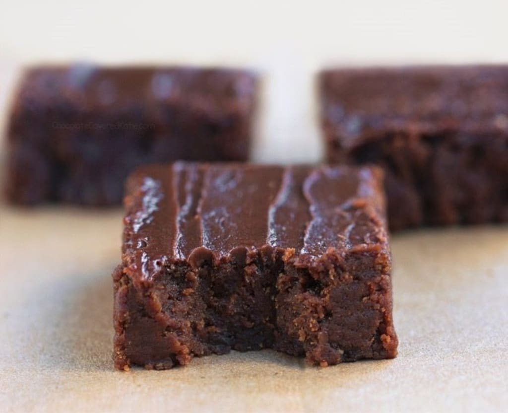 Mother Earth's Sweet Potato Brownies