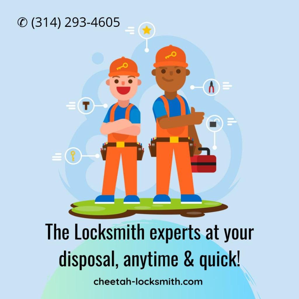 locksmith st louis - Cheetah Locksmith Services