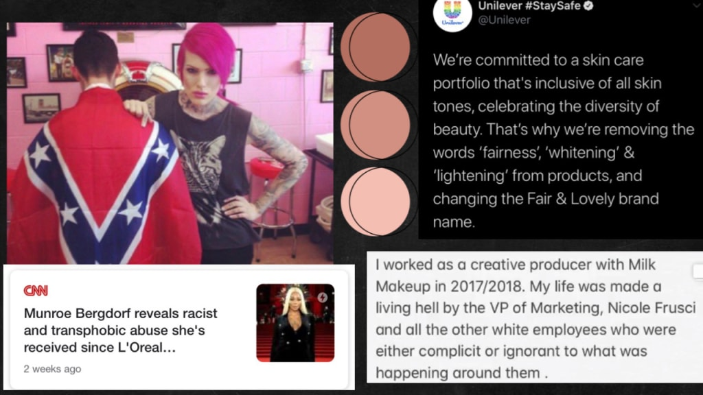 How the Beauty Industry Thrives on Anti-Blackness