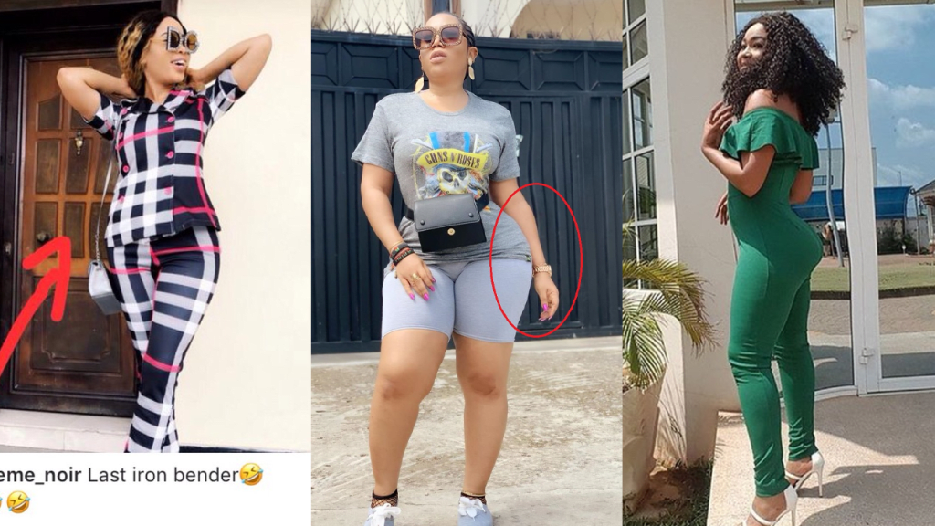 7 Nigerian Celebrities Dragged for Photoshopping Hips.