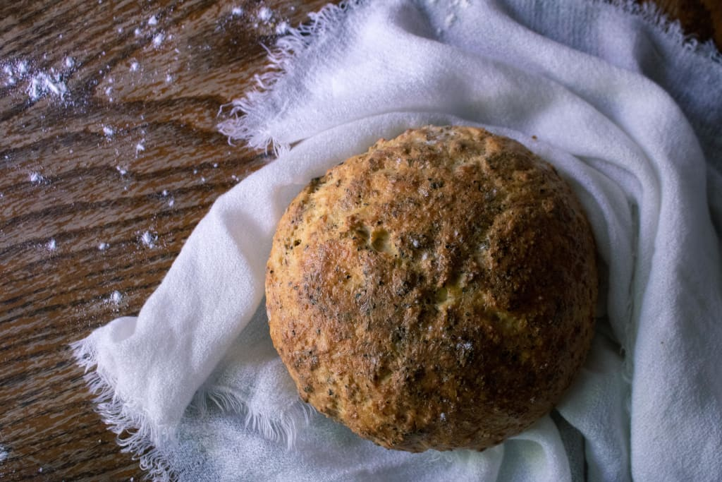 Herb Crusted Bread
