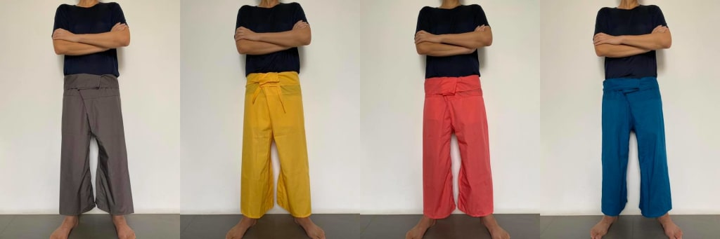 What Are Thai Fisherman Pants? Patterns and Where to Buy Them