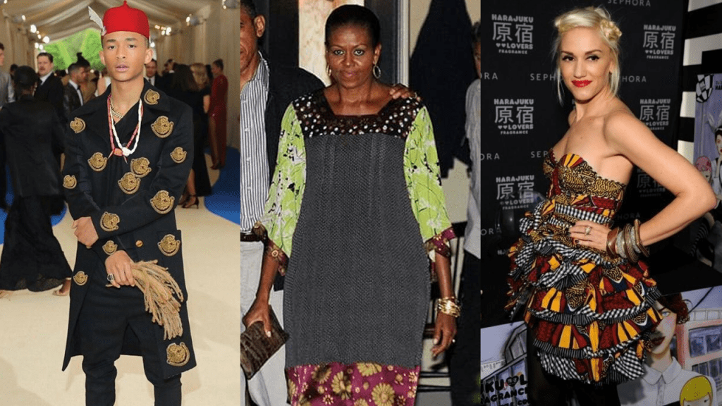11 Hollywood Celebrities Wear Nigerian Outfits.