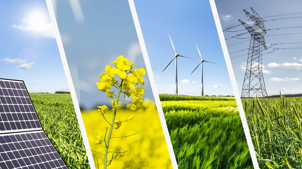 How the USA accounted for some major damage to the global renewable energy industry?