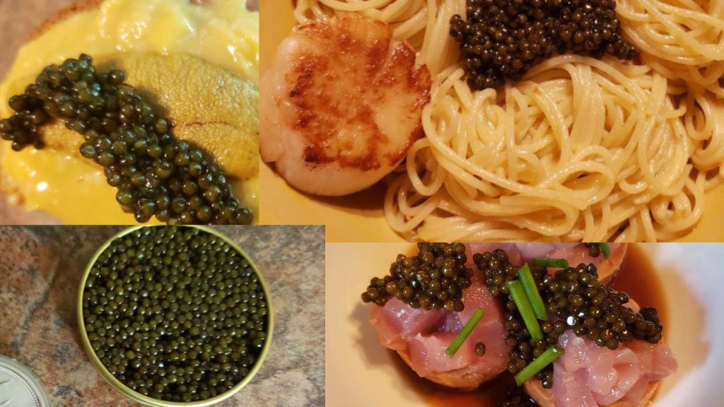 Caviar, Sea Urchin, and Friends
