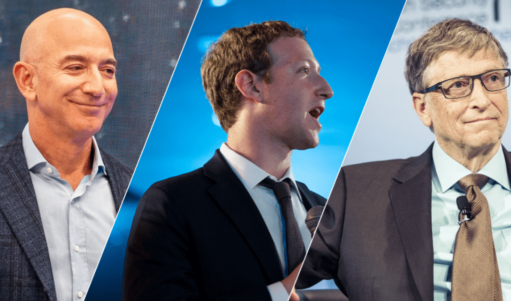 "Bezos, Gates, Zuckerberg. Behind every ""self-made"" millionaire is a father with money"