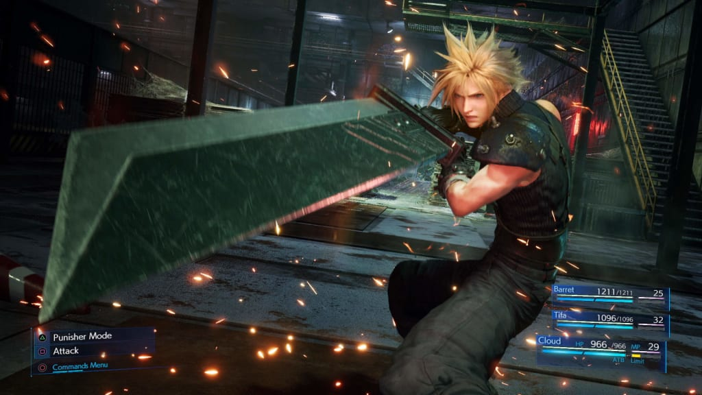 """What if FFVII was a """"remaster"""" rather than a """"remake"""""""