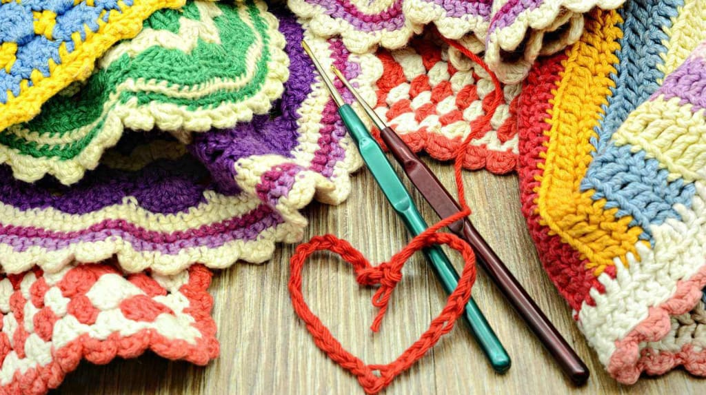 Crocheting, not just for Grannies