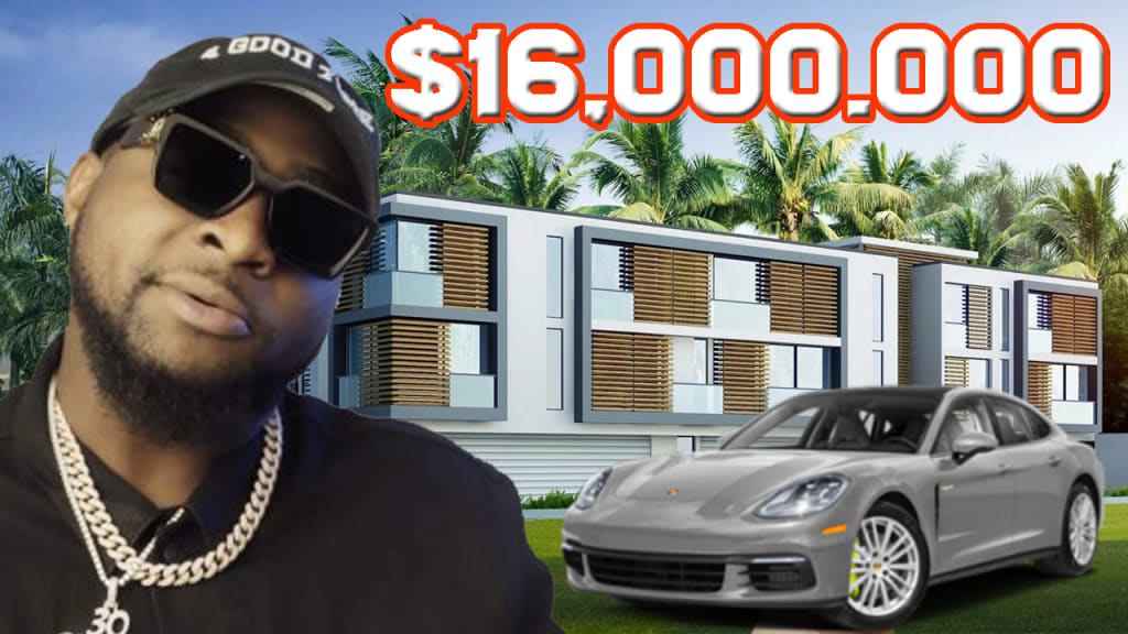 10 Expensive Things Owned By Millionaire Nigerian DAVIDO