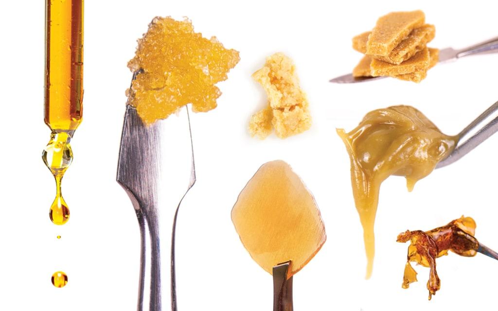 Medical Marijuana Concentrate Options