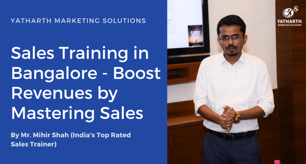 Online Sales Training in Bangalore - Boost Revenues by Mastering Sales
