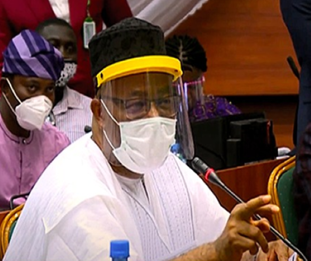 Senator Godswill Akpabio, the Minister for Niger Delta Affairs, has denied saying most of the NDDC contracts were awarded to members of the National Assembly.