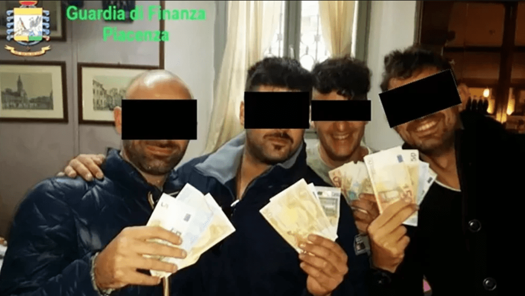 While we were in lockdown, a group of Carabinieri from Piacenza dealt and tortured