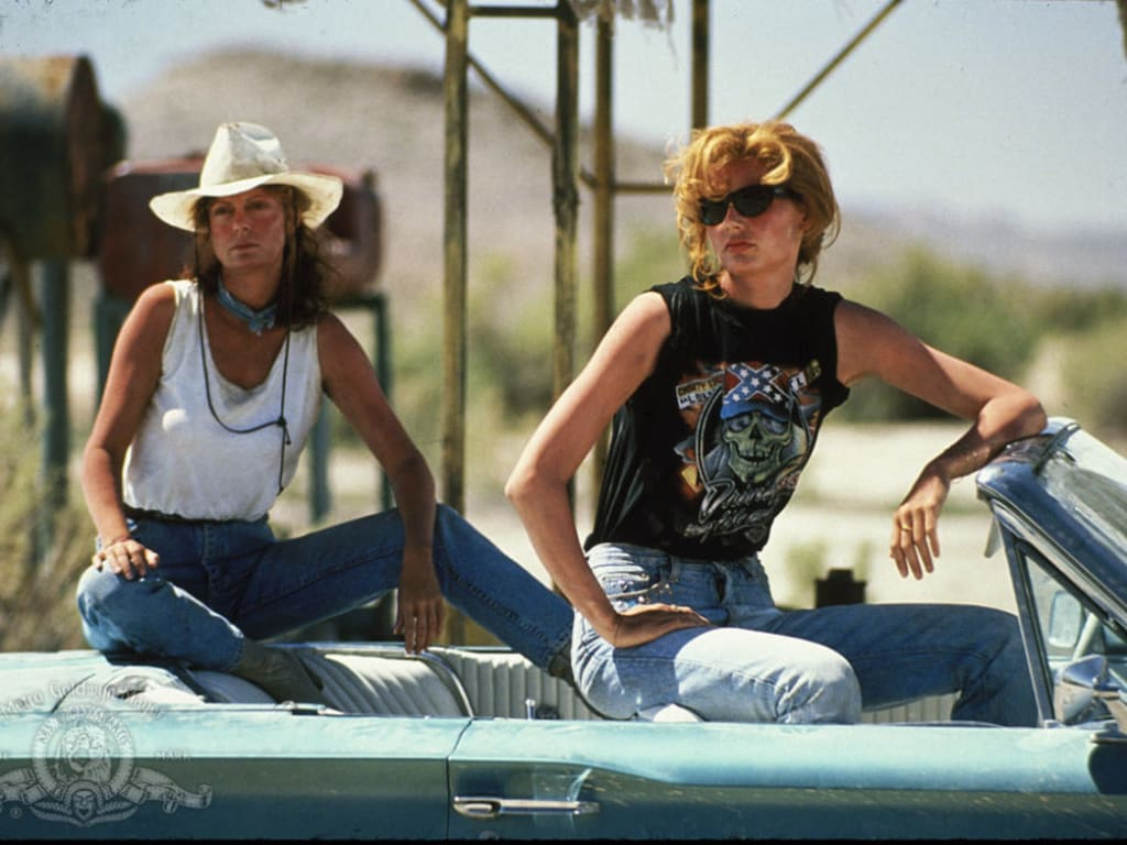 Thelma and Louise: A lesson in girl power.