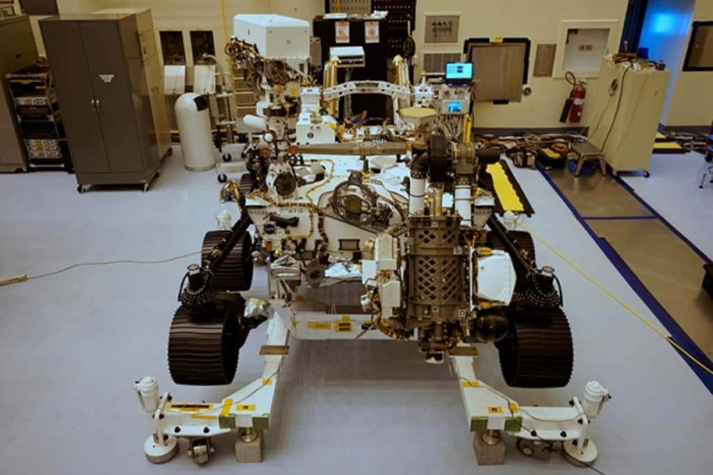 """Perseverance"" a Self-Driving Car for NASA Next Mars Mission"