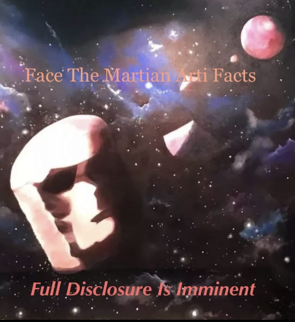 Face The Martian Artifacts