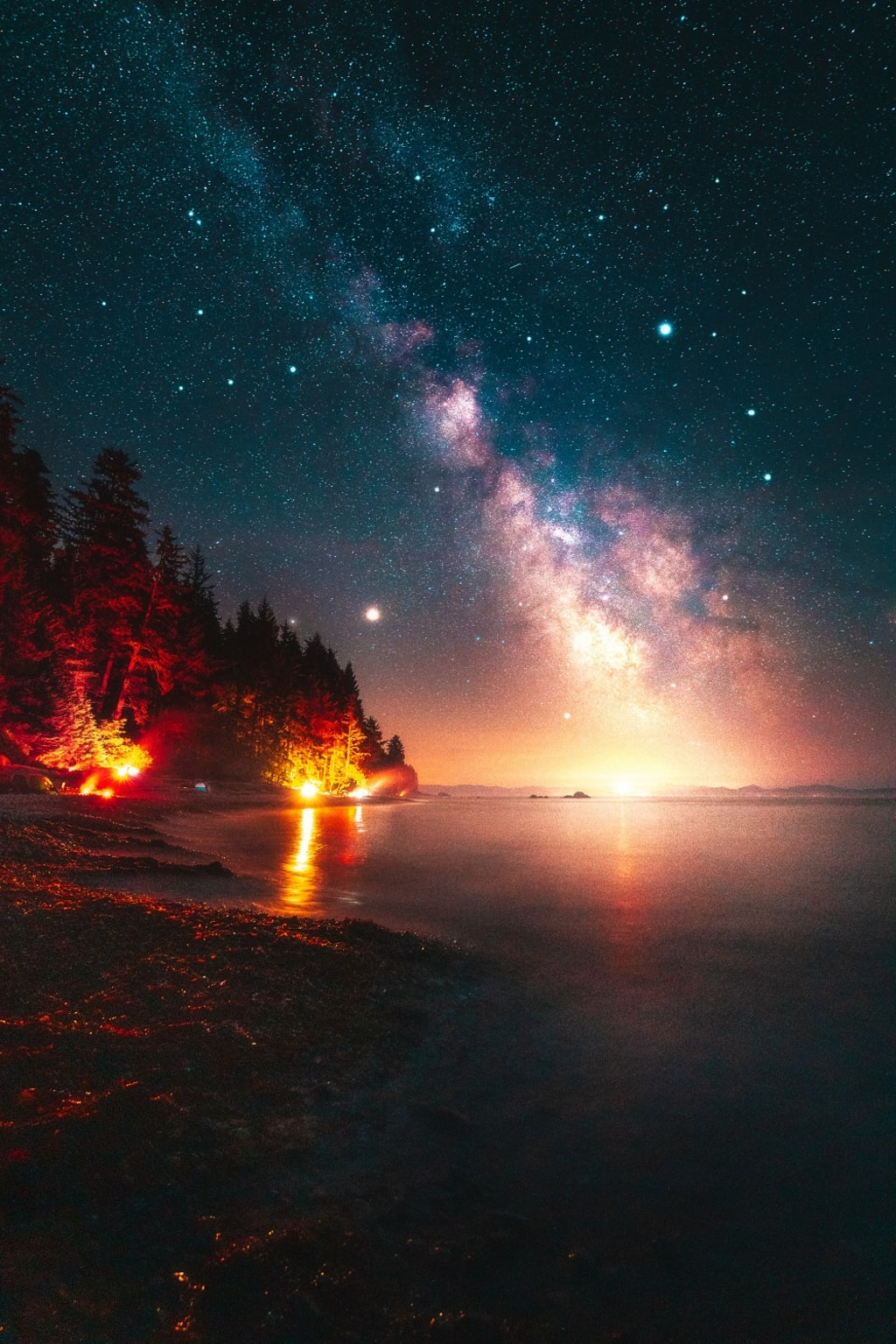 Capturing the Milky Way on the Coast