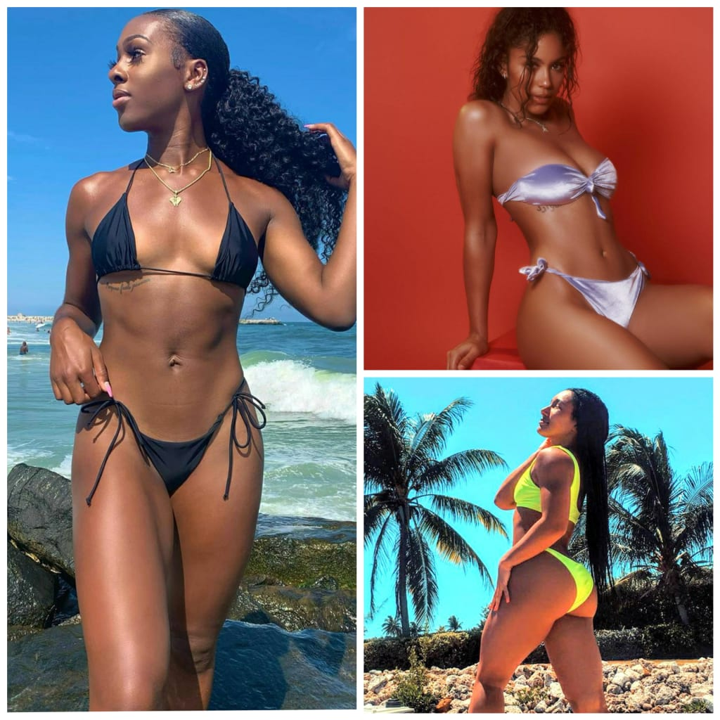 Part XXXIII: Hot Summer Bods in Women's Sports & Fitness