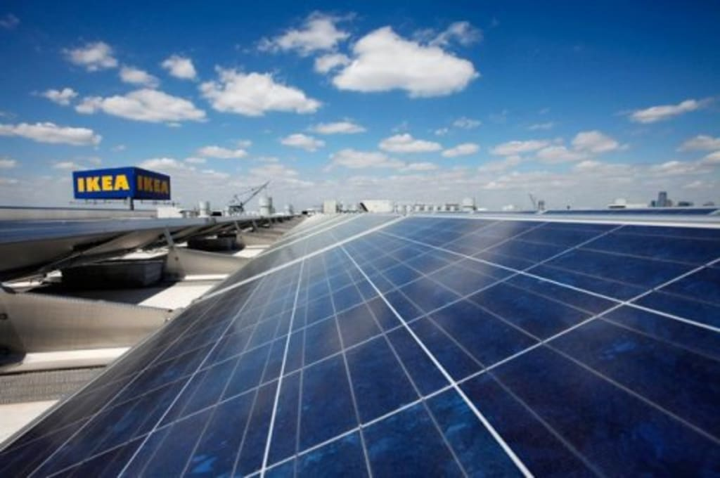 IKEA (the world's largest furniture retailer) has revealed that 70% of the materials used to make its products during 2019 were either renewable or recycled, as it strives to reach the 100% mark by 2030.