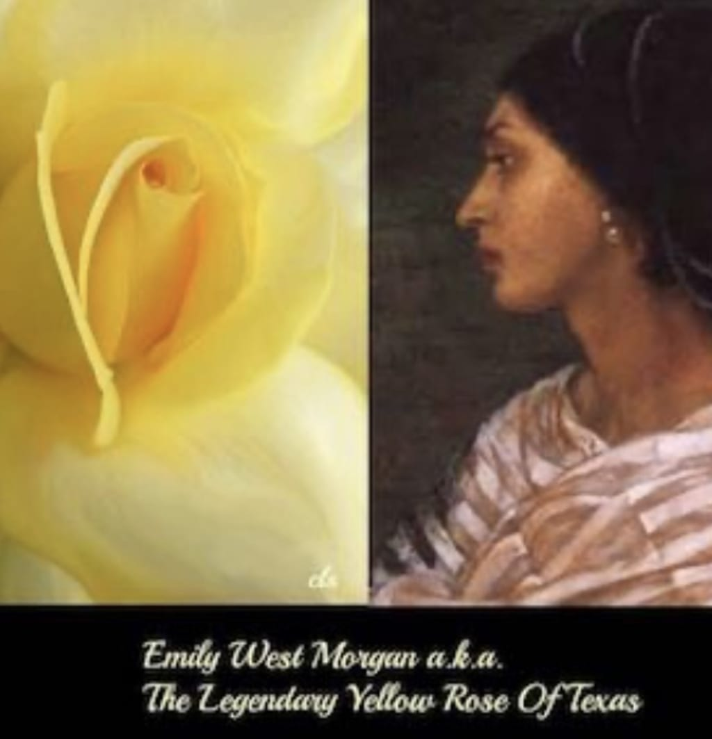 The Yellow Rose of Texas was a woman of color
