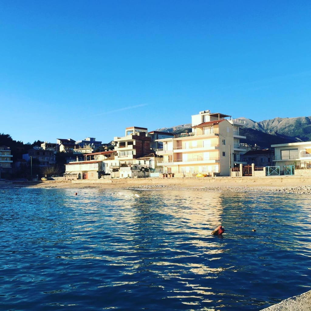 1-month of Discovering Himara, Albania: A simple mindful view on a solo female traveler's life.