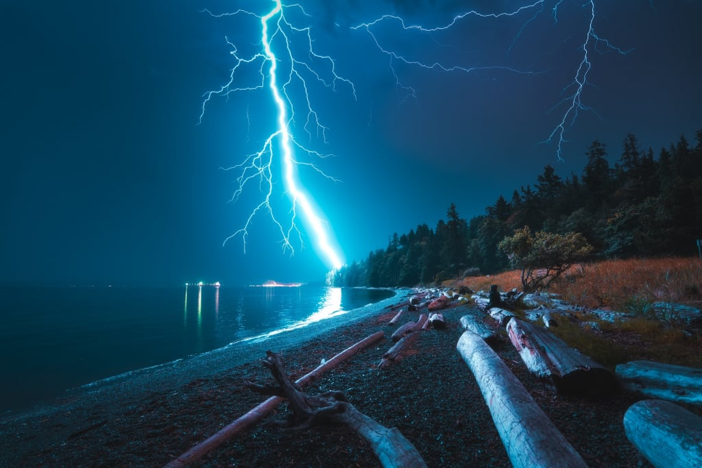Photographing Lightning in the Pacific Northwest