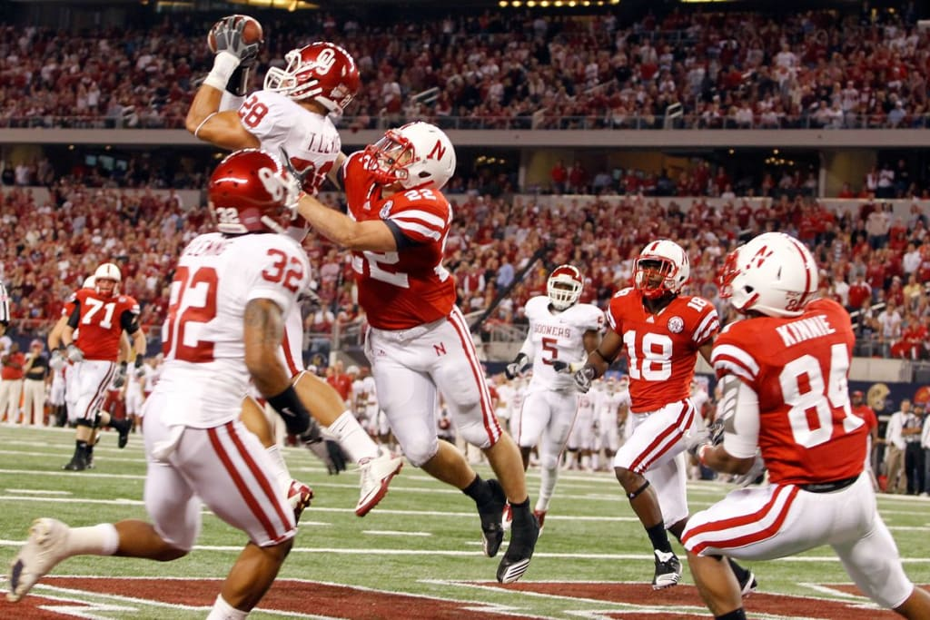 'NCAA Football 14': OU, Stillwater, and Georgia Tech to the SEC Dynasty Mode Build Season 1, Part 20--Ending #1--BCS Alternate National Championship at the Sugar Bowl: #1 Oklahoma vs #3 Nebraska