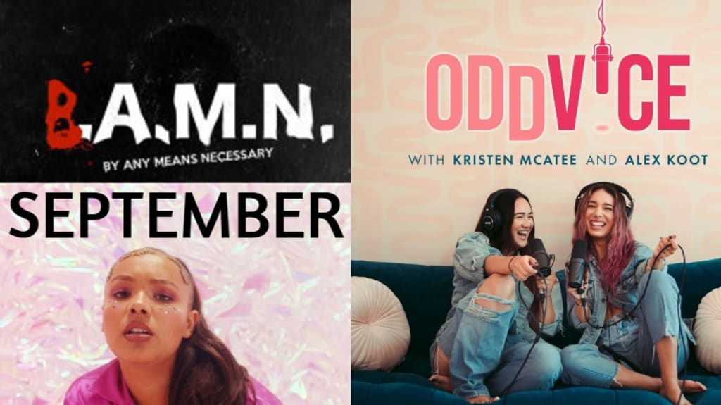 THE NEW GROOVE: September Tunes