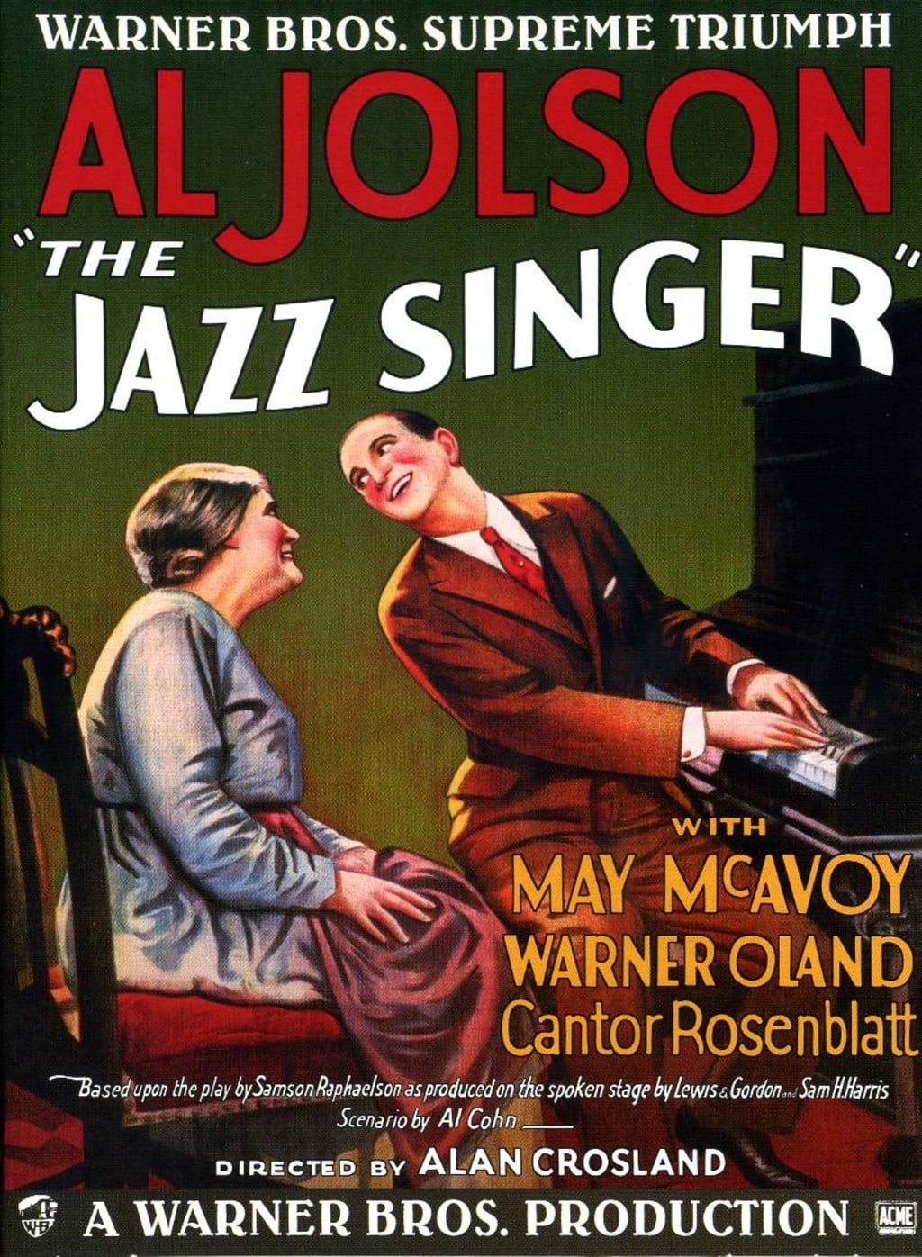 "A Filmmaker's Guide to: ""The Jazz Singer"" (1927)"