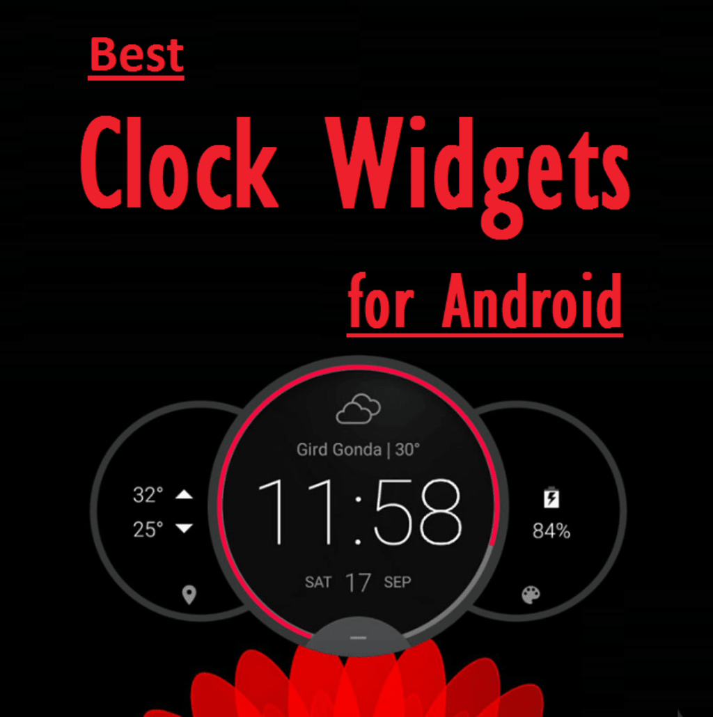 Some Best Clock Widgets And Weather Clock Widgets For Android
