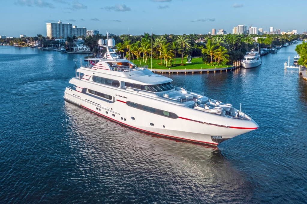 Memorable Yacht Trip to Miami with a Yacht Video Production