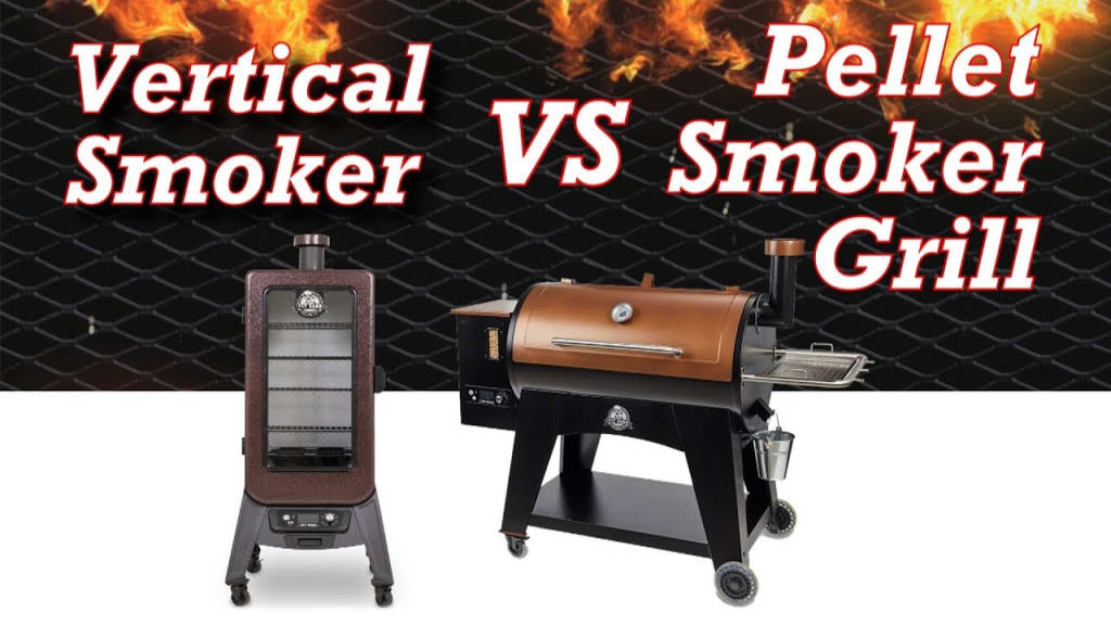 Vertical Smoker vs Horizontal Pellet Smoker