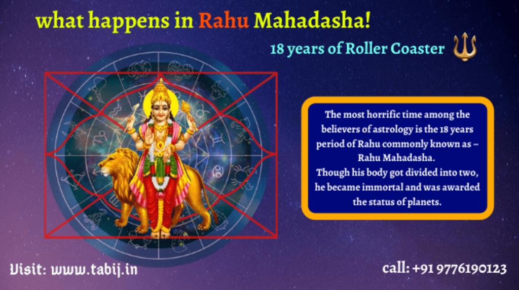 Rahu Mahadasha: Effects & remedies of Rahu Dasha for 18 years