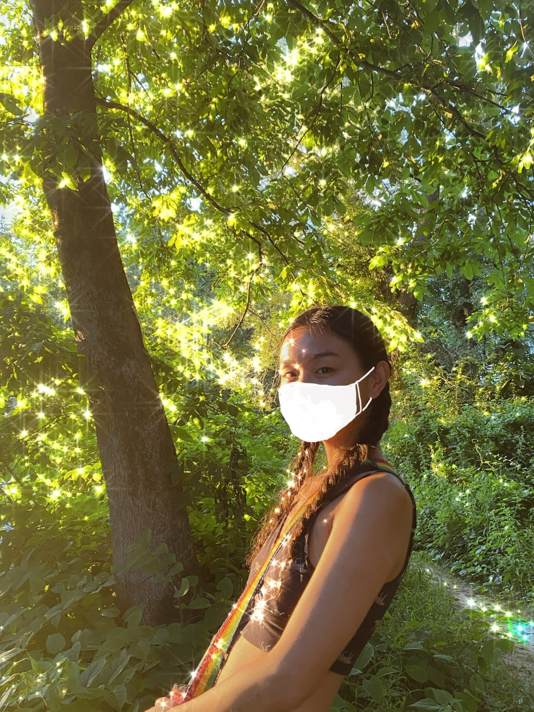 Wear A Damn Mask and Hug A Tree