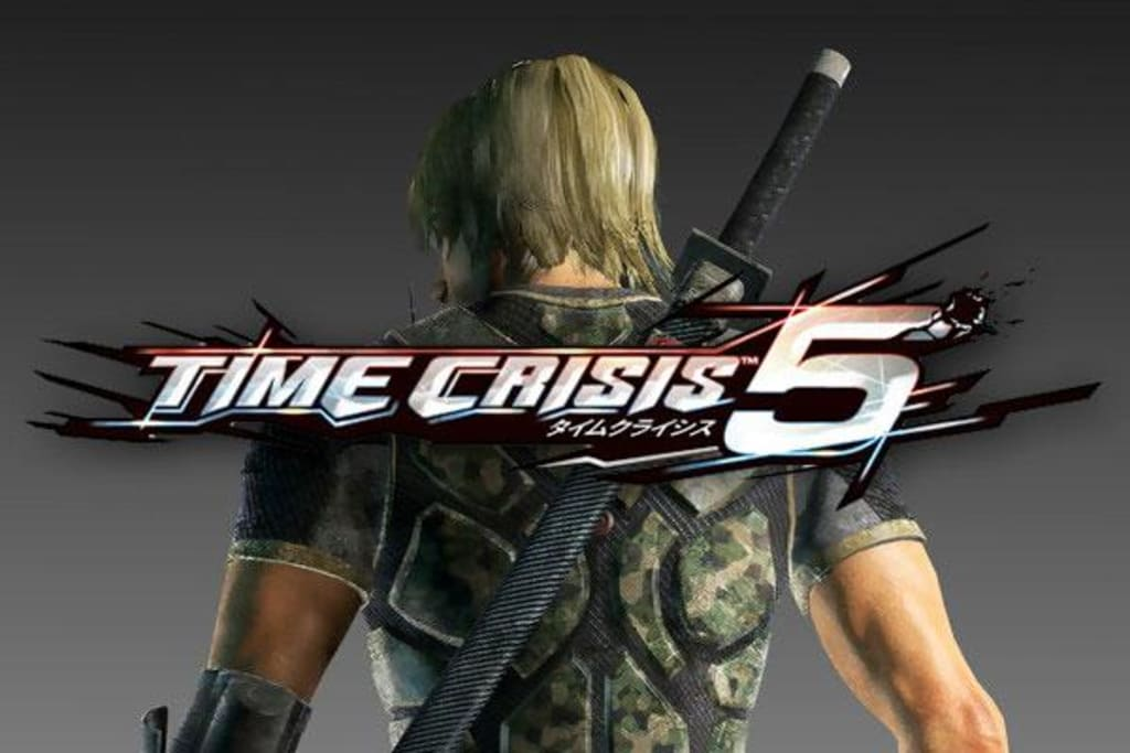 PLAY TIME CRISIS 5 ON PC PC ARCADE GAME ON PC ARCADE GAME