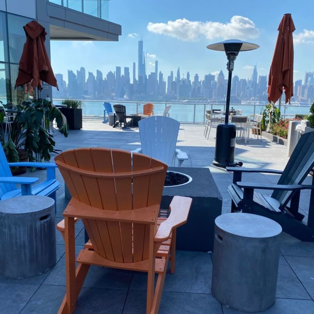 A view at the EnVue Hotel's Marcus NoHu Rooftop