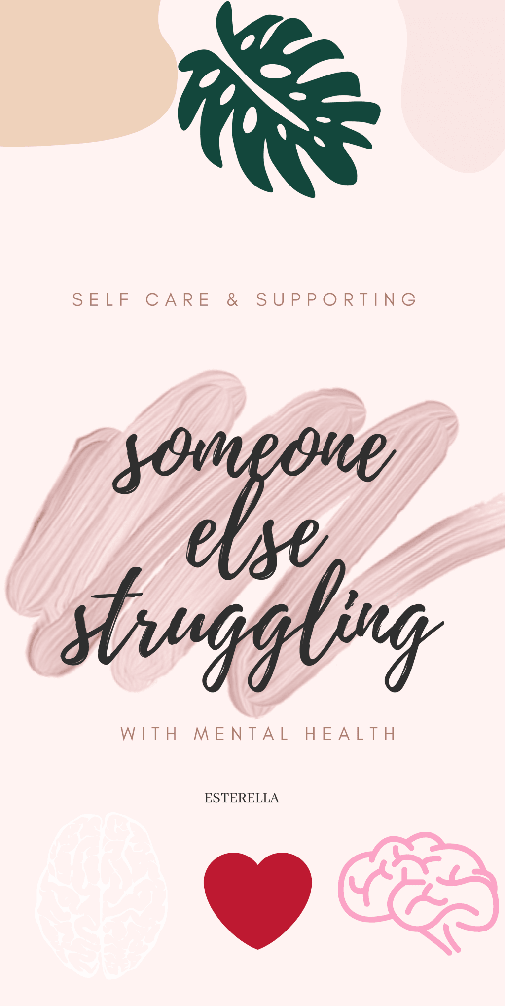 Supporting someone struggling with their mental health