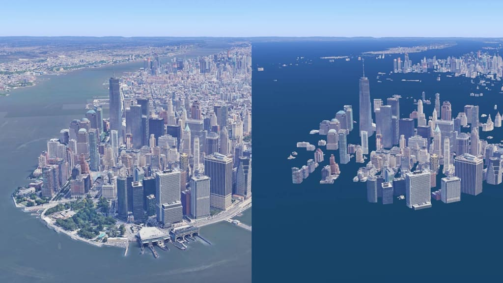 This is What Our Cities Look Like in a World Without Ice