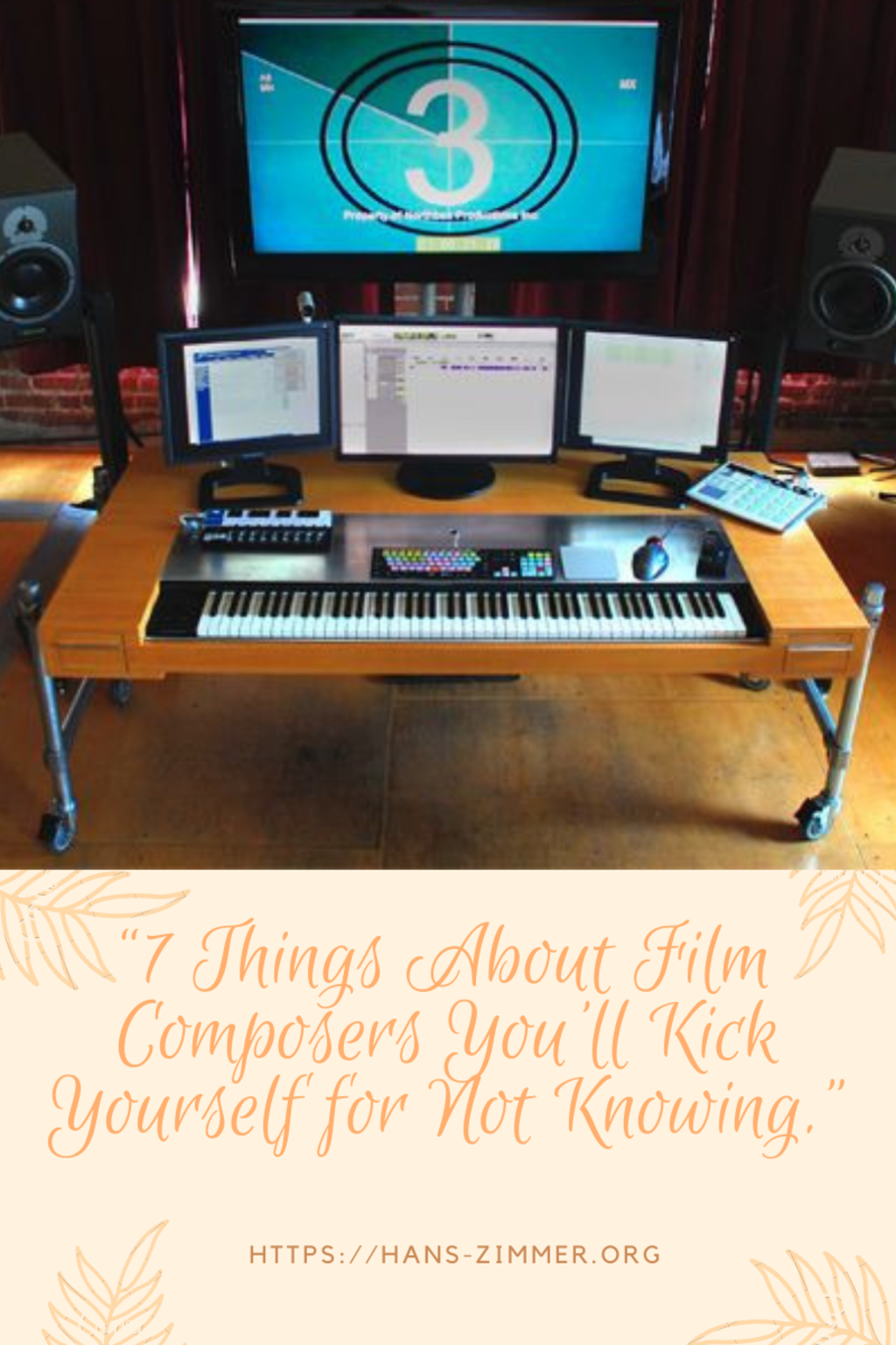 """""""7 Thinks About Film Composer You 'II kick Yourself for not knowing"""""""