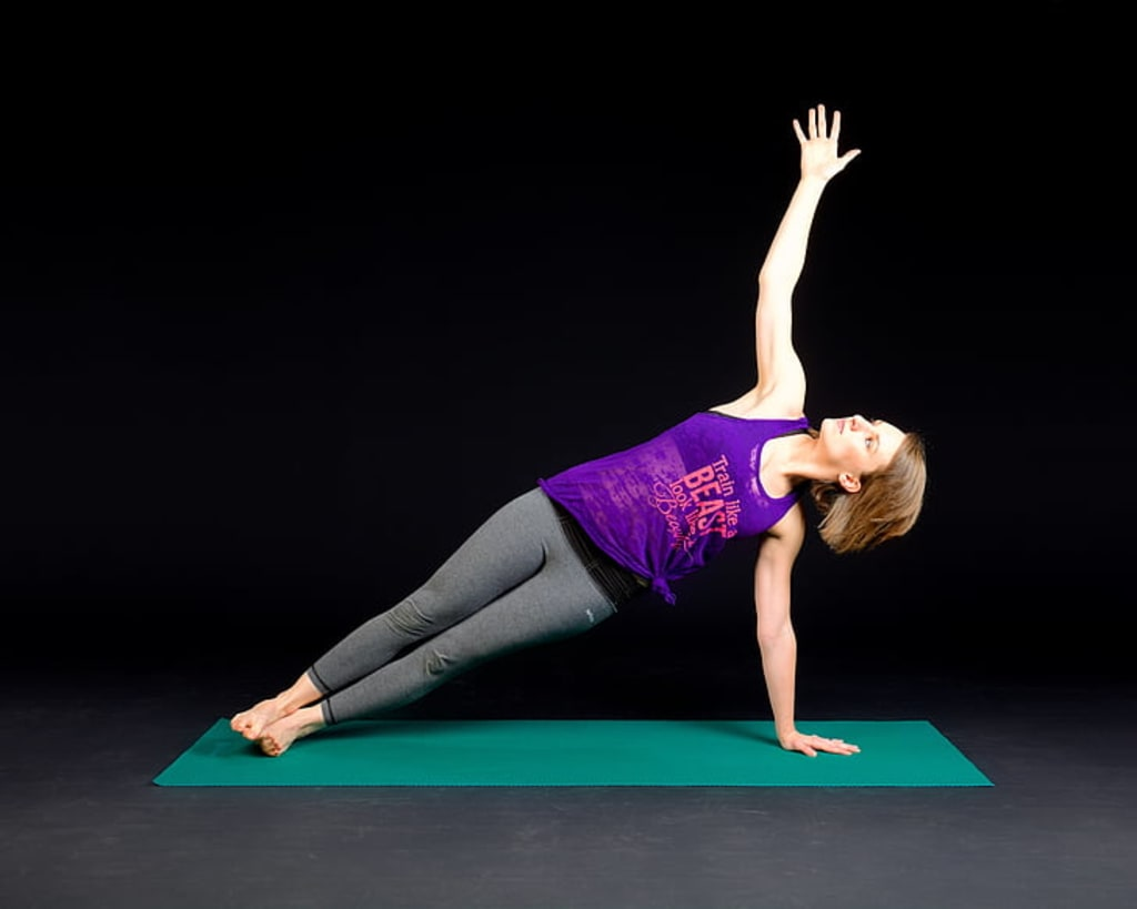 Yoga Creates A Balance Between The Body, Mind And Soul.