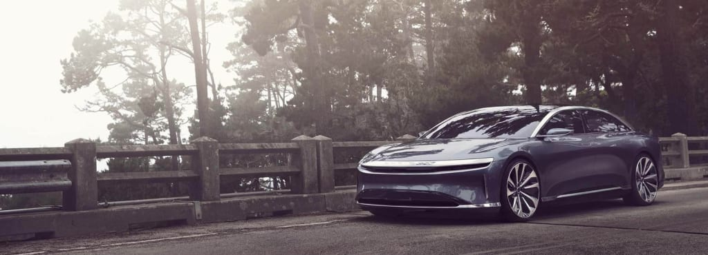 The Leader In the Electric Car Industry Tesla Challenged By A Potential New Star In The Field