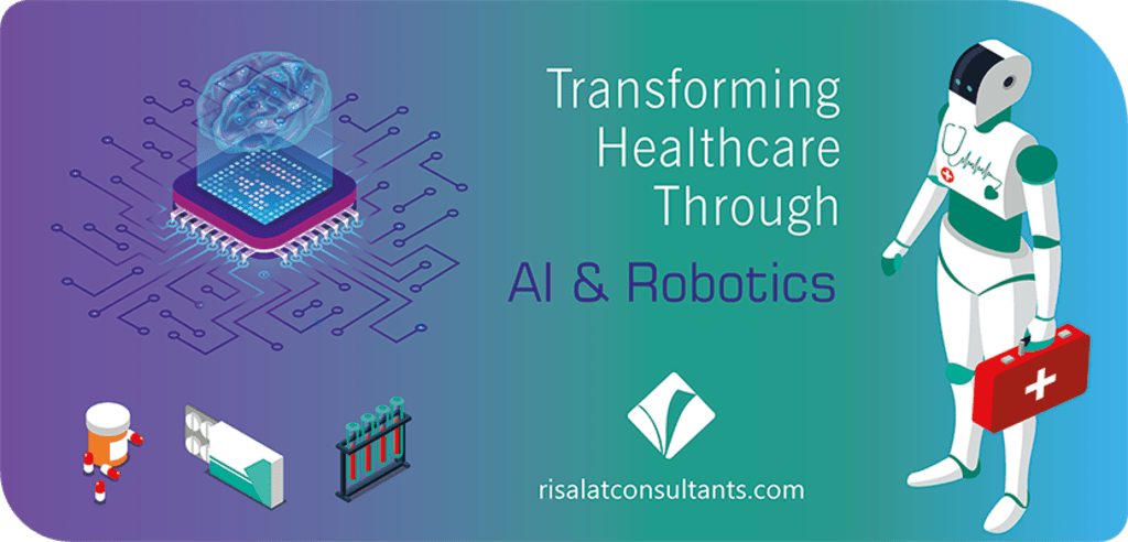Transforming Healthcare through Artificial Intelligence and Robotics